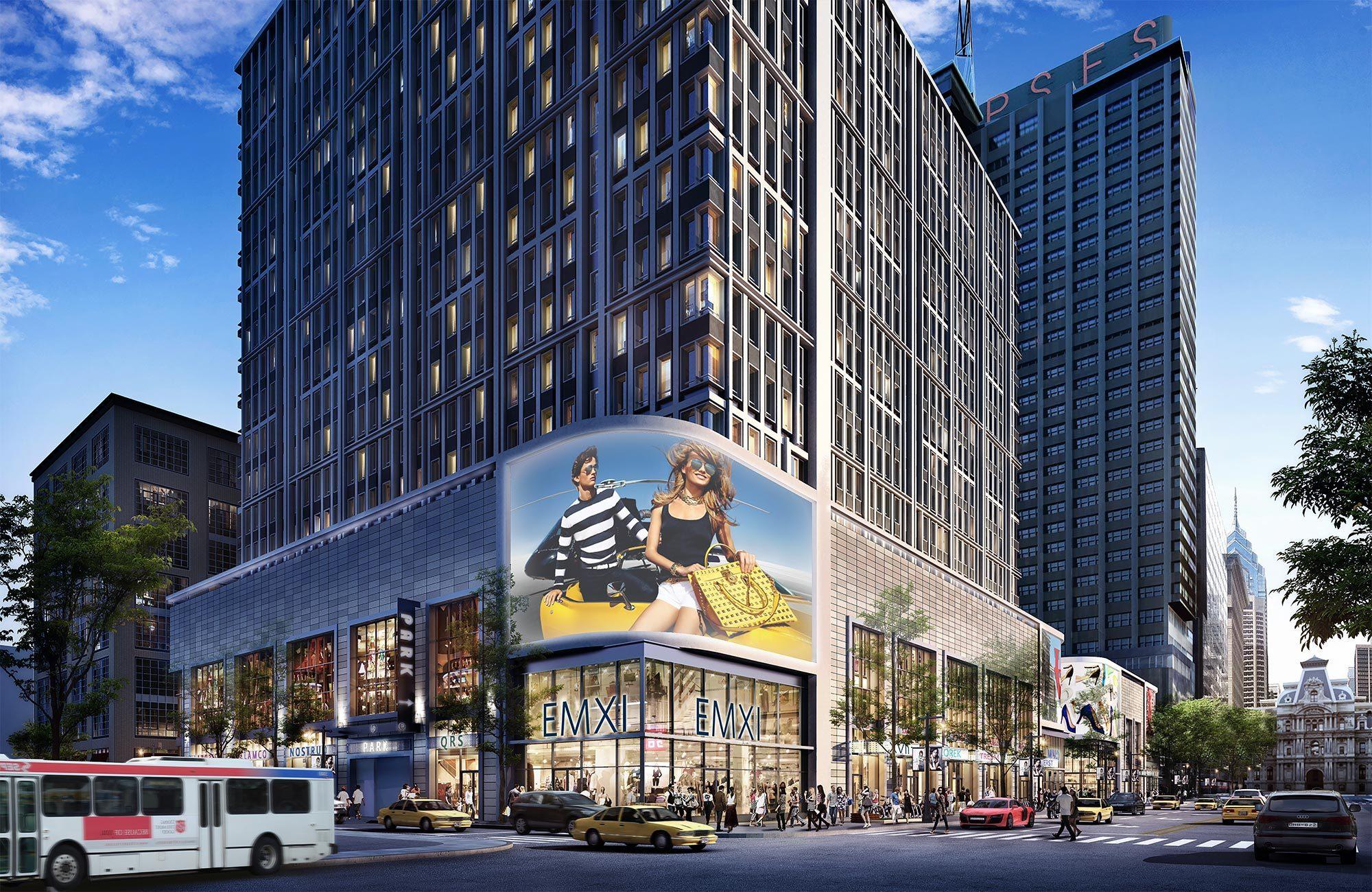 East Market rendering